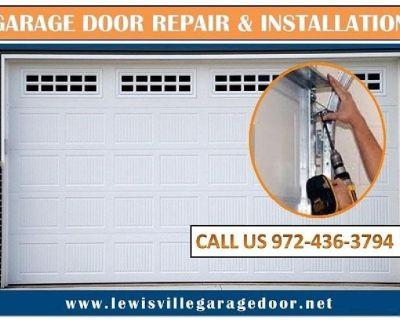 Commercial New Garage Door Installation Service Lewisville, 75056 TX – Start $25.95