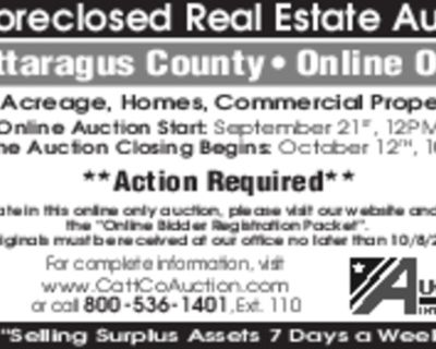 Tax Foreclosed Real Estate Auction