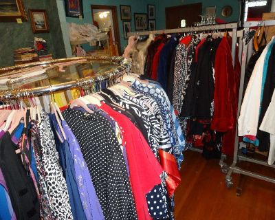 HUGE ANAHEIM SALE, PART 2! NEW PLUS SIZE CLOTHING, SHOES. VINTAGE, COSTUME JEWELRY, COLLECTABLES,