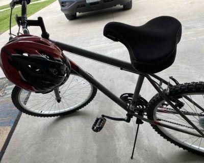 Bike and helmet for sale