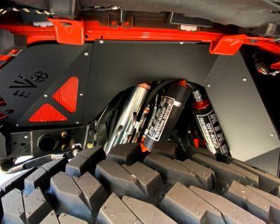 NEW! EVO MFG JL / JLU Wrangler / JT Gladiator Front Vented Inner Fender Liners