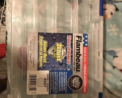 small storage container maybe for crafts or hardware