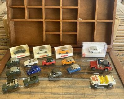Rare wiking / siku thing toy collection
