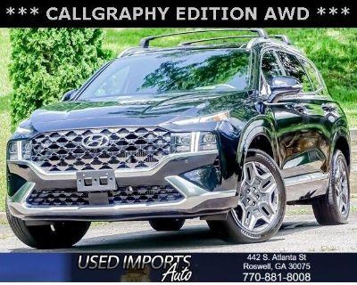 2021 Hyundai Santa Fe Calligraphy AWD *Ltd Avail*