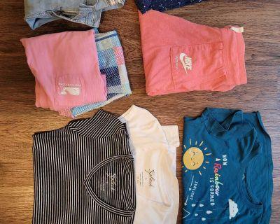 Random clothes ans house hold items