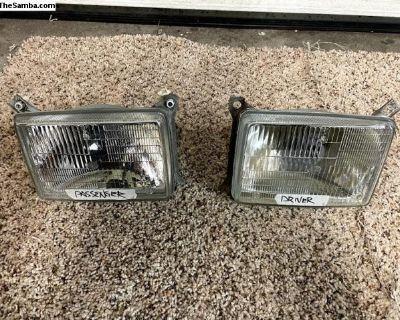 Vanagon Square 9004 Headlight Buckets (Full Set)