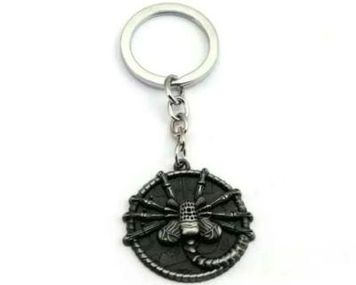 Alien Facehugger Keychain