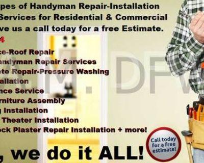 Rent-A-Man DFW Home Improvements & Handyman Services!