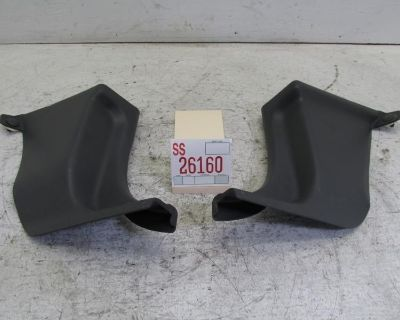 98-00 01 02 Rodeo Left Right Inner Foot Side Kick Panel Trim Cover Panel Molding