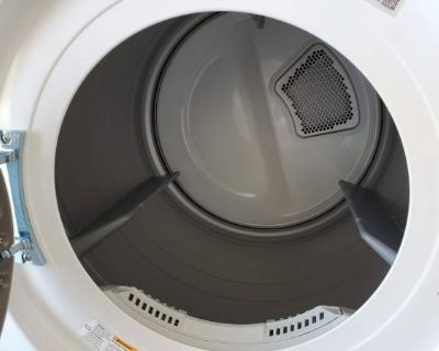 LG Front-Load Washer and Dryer Set -