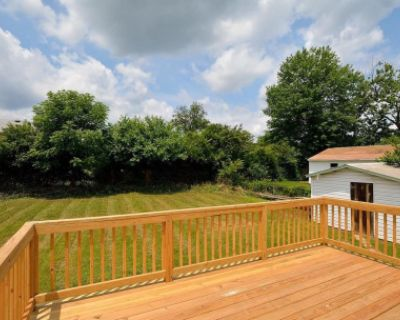 Suburb Backyard in Springfield, Virginia with Greenery, Springfield, VA