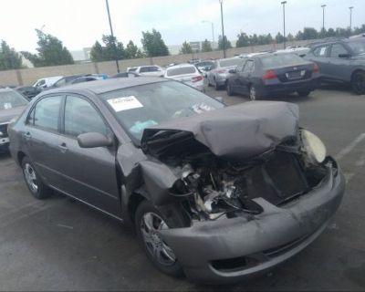 Salvage Gray 2005 Toyota Corolla