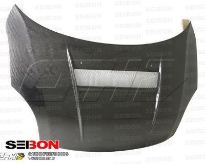 Seibon Carbon Fiber Vsii-style Carbon Fiber Hood Kit Auto Body Suzuki Swift 05-0