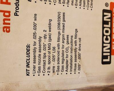 Tig kit for Lincoln welder