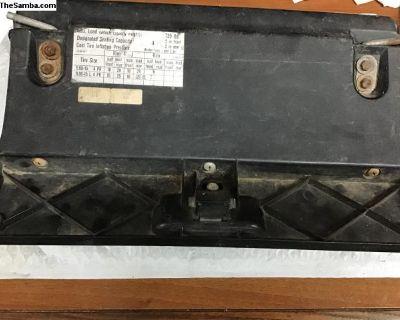 Super beetle glove box door