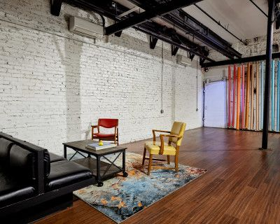 Downtown Historic Factory Complex Turned Film & Photo Studio With 2-wall Cyc, Atlanta, GA