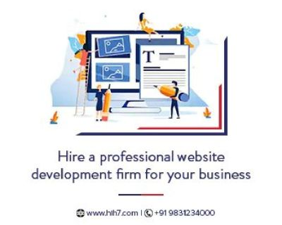 Hire a professional website development firm for your business | Hih7 Webtech