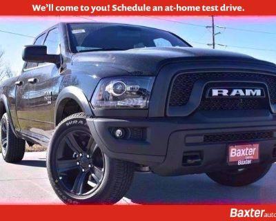 New 2021 Ram 1500 Classic Warlock 4x4 Truck Extended Cab