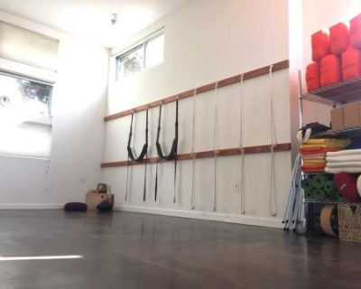 Modern Yoga Studio with great natural light in West Oakland, Oakland, CA