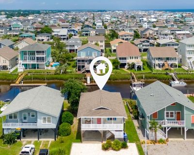 Canal-Front Oasis | Boat Dock & Private Suite | Walk to Beach & Cafes - Ocean Isle Beach