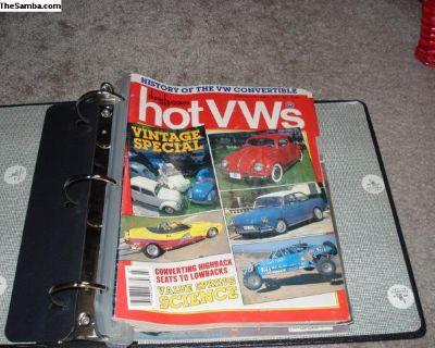 Vintage 1987 Hot VW's Magazines