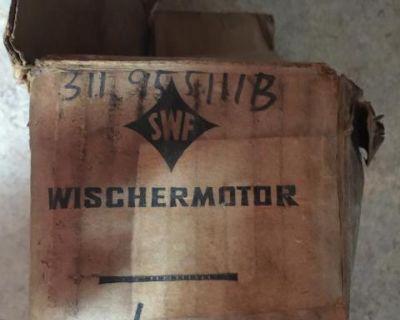NOS SWF Early Type 3 6V Wiper Motor