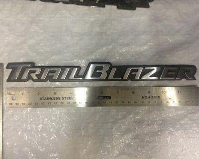 "Emblem - "" Trailblazer "" Used"