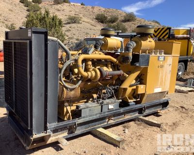 2004 (unverified) Cat SR4B 850 kVA Skid-Mounted Gen Set