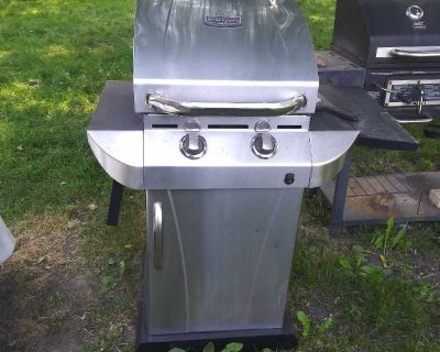 Commercial infrared char broil propane grill