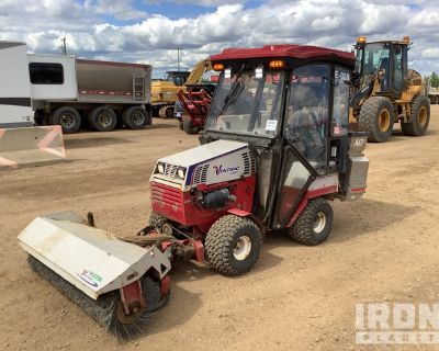2017 (unverified) Ventrac 4500Z AWD Articulated Snow Removal Tractor