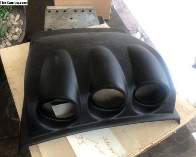 Beetle 3 gauge dash pod