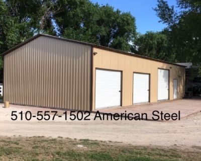 American Steel Metal Shops, Garages, Ag structures, RV Boat covers