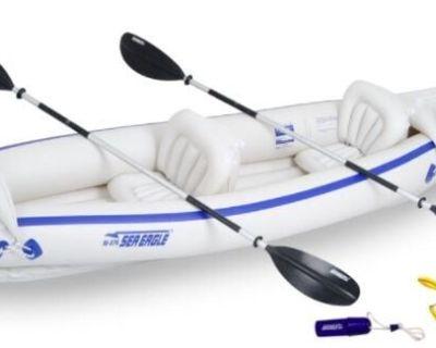 Sea Eagle 370 Inflatable Kayak (used)