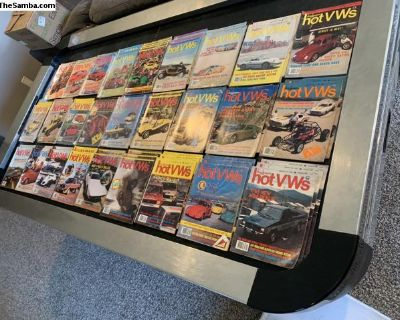 Early 1980s Hot VW Magazines
