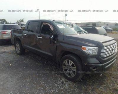 Salvage Gray 2015 Toyota Tundra 4wd Truck
