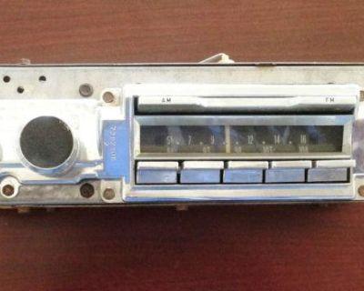 1966 Cadillac Am/fm Radio # 7282405 Original Delco Radio