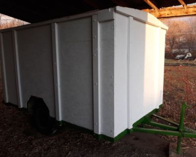 6x10 Home Built Enclosed Trailer