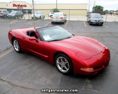 Used 2002 Chevrolet Corvette Convertible