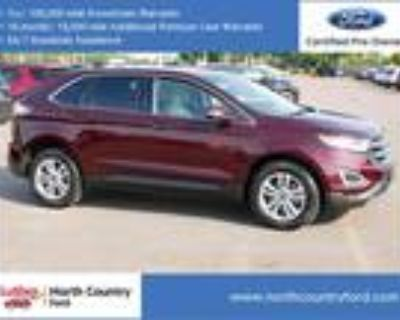 2018 Ford Edge Red, 500 miles