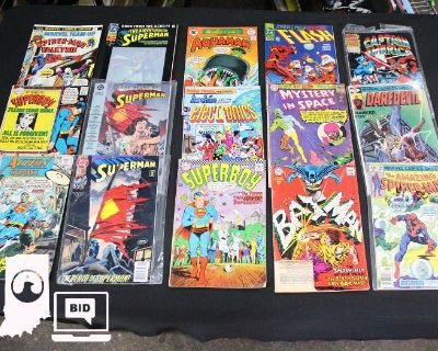 Comic Books, Antiques, Misc, and More in Indy 46107
