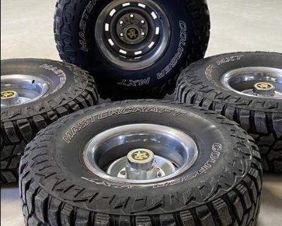 Chevy/GMC 15x8 Rally wheels
