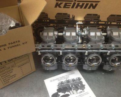 Keihin Cr Special Carbs Honda Cb750k & F Models Ahrma Cafe Bobber Drag Bike