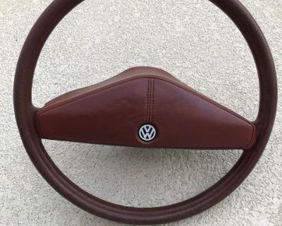 Rabbit steering wheel