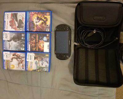 PS Vita (2nd Generation) Like New Rarely Used.