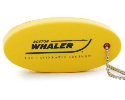 Boston Whaler Boats Bright Yellow Floating Key Chain Floatie