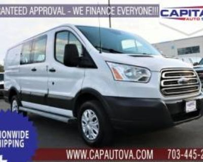 """2016 Ford Transit Cargo Van T-250 with Swing-Out RH Door 130"""" Low Roof 9000 GVWR"""