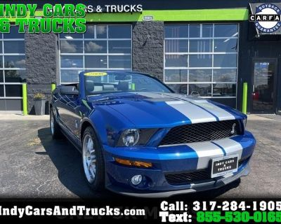 2008 Ford Mustang 2dr Conv Shelby GT500