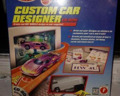 Hot Wheels Drag Bus Custom Car Designer