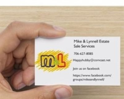 Mike Lynnell & Son estate sale augusta ga