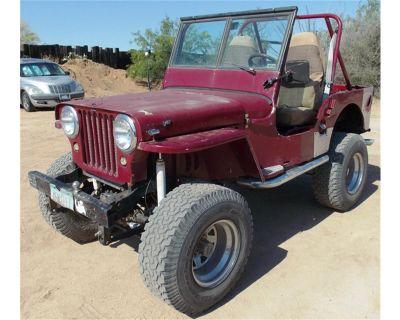 1946 Willys CJ2
